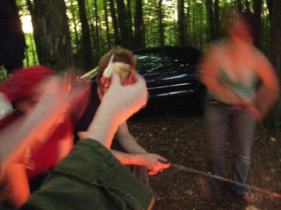 camping + tess