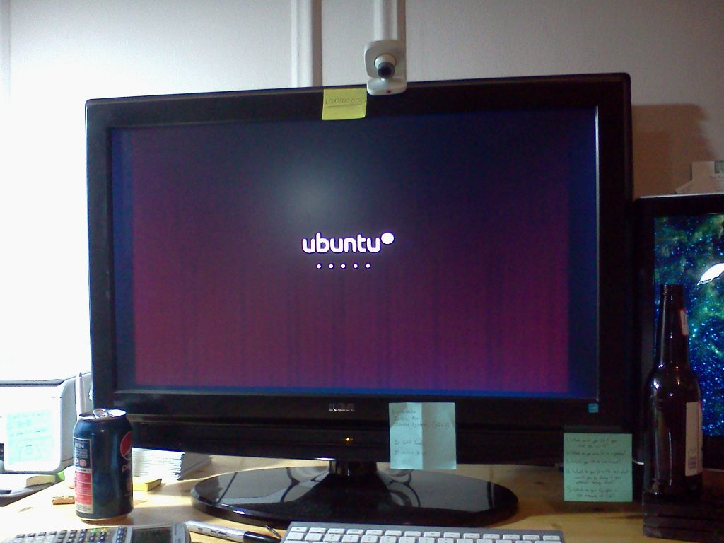 ubuntu loading on my computer