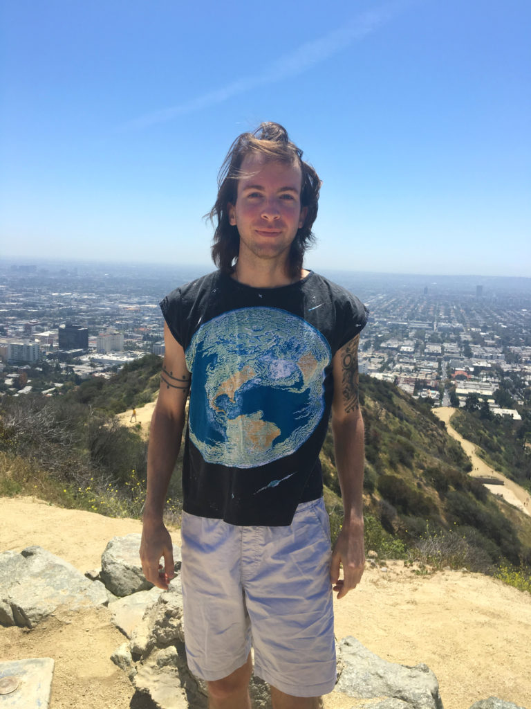 earth day shirt runyon canyon park los angeles