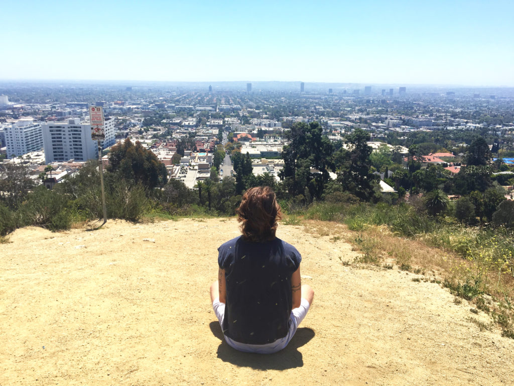 ethan looking out from runyon