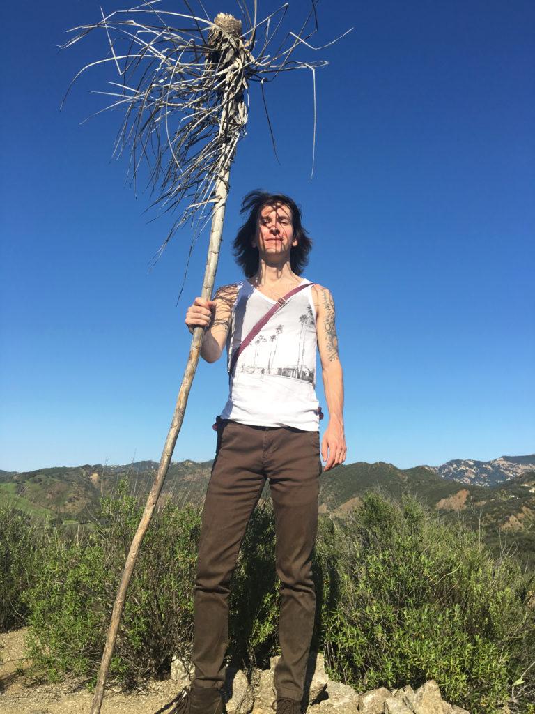 ethan walking stick king gillette ranch hike