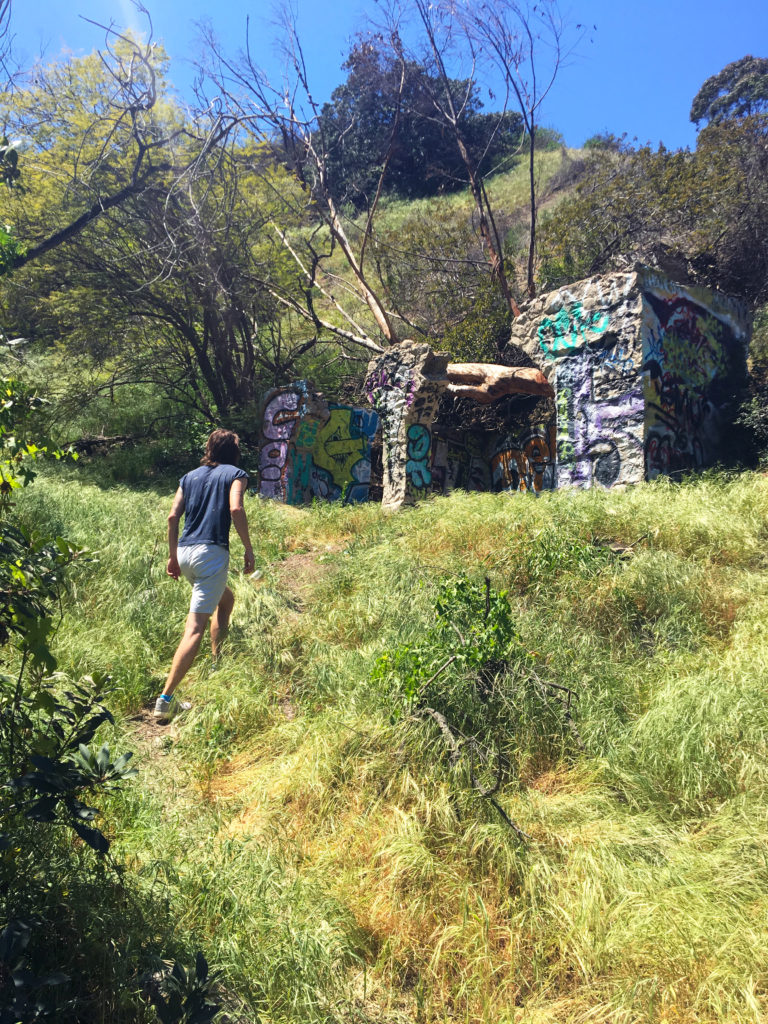 trekking to abandoned runyon structure