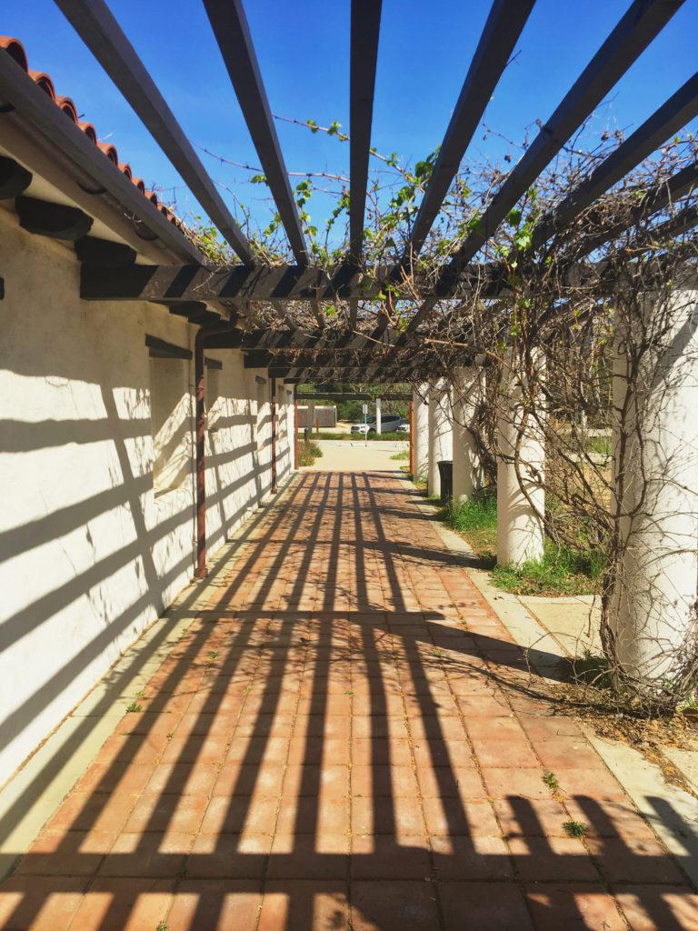 king gillette ranch entryway shadows