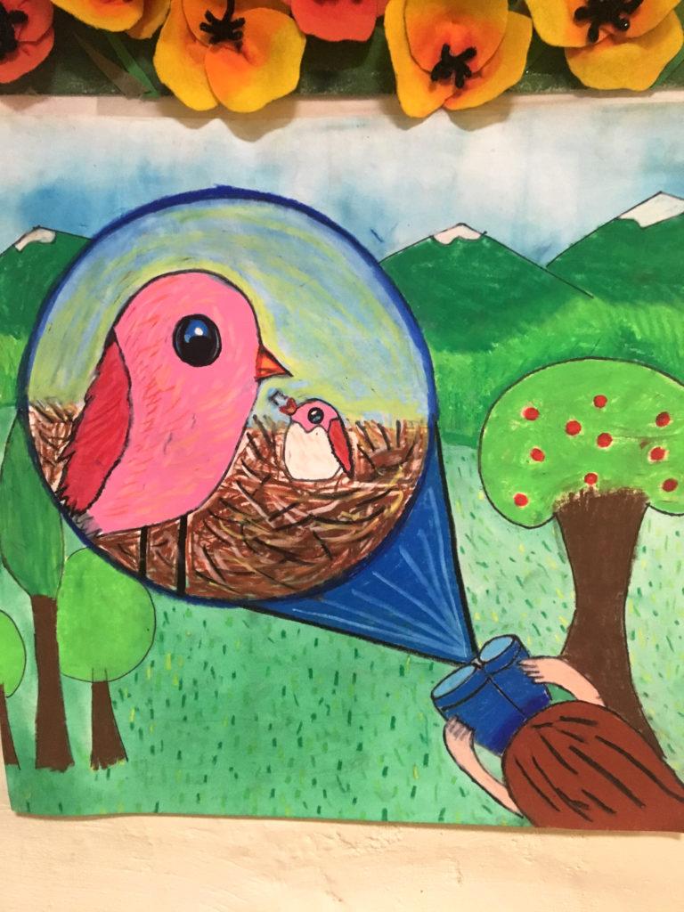 cute bird drawing king gillette ranch