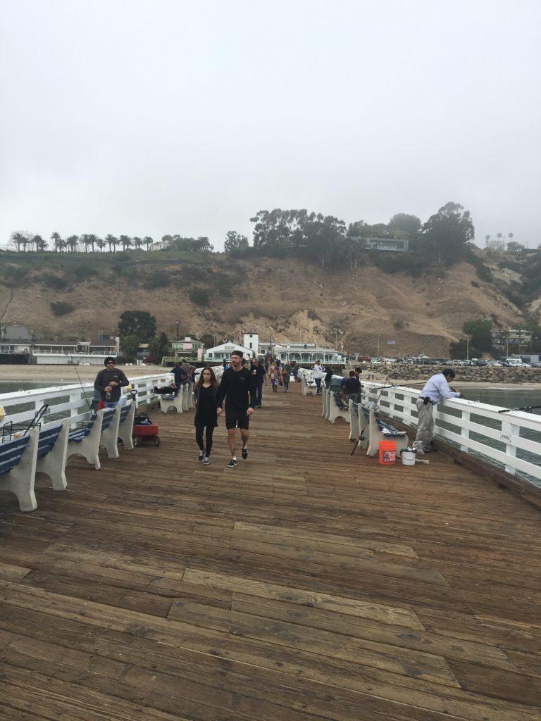 just a boring pier