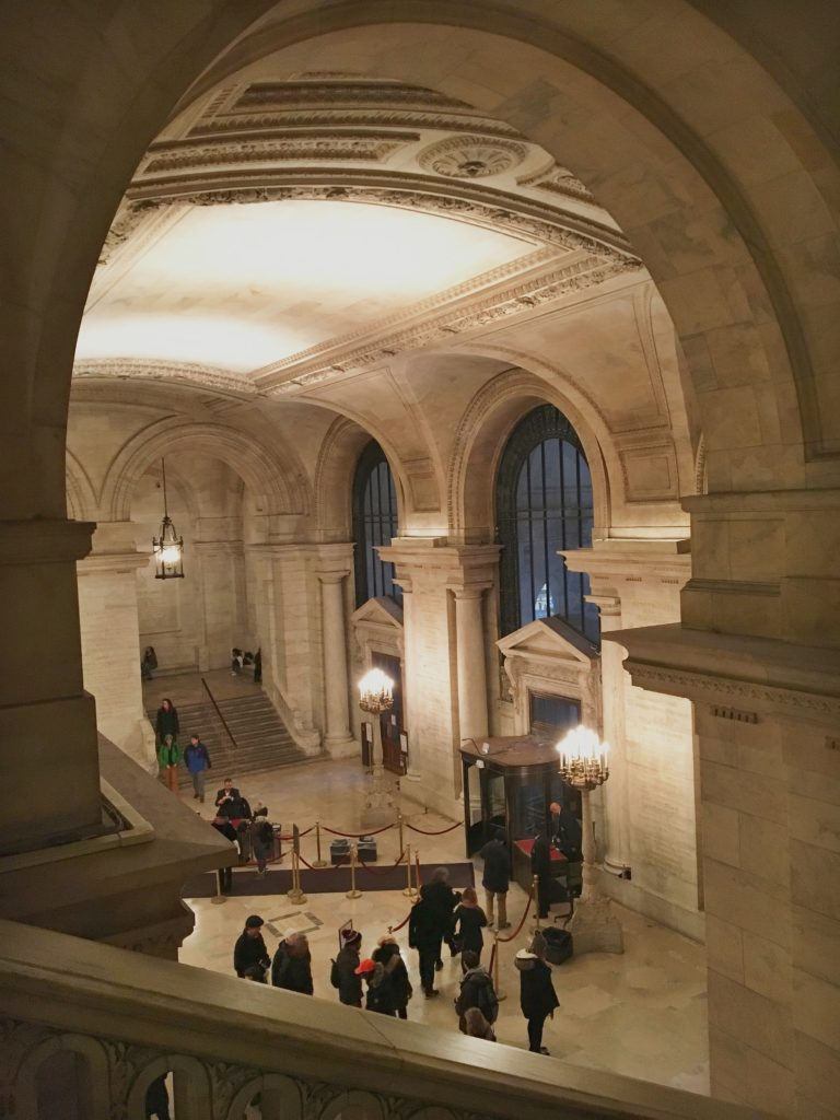 new york public library arches