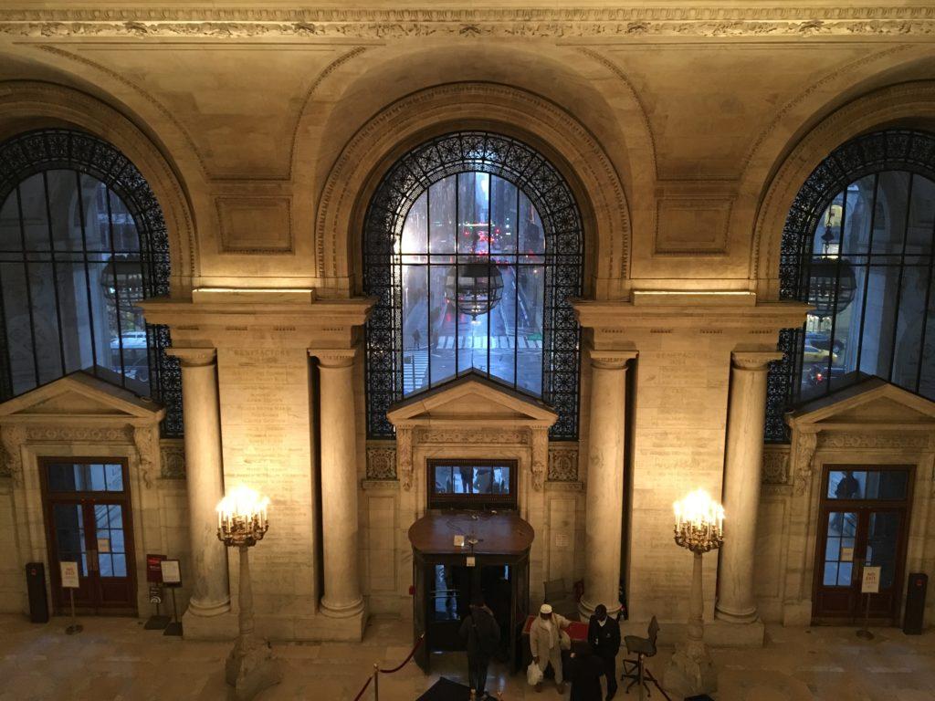new york public library inside