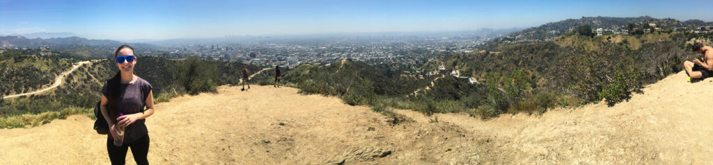 panorama of runyon canyon park alex los angeles