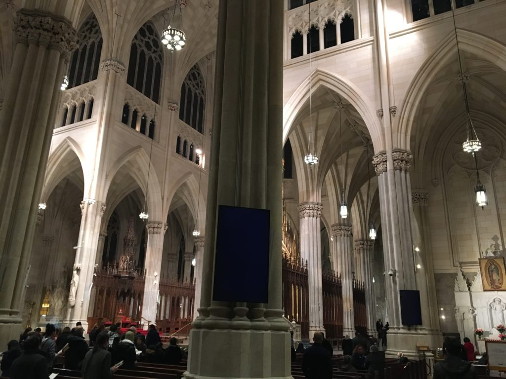 st patricks cathedral arches 2