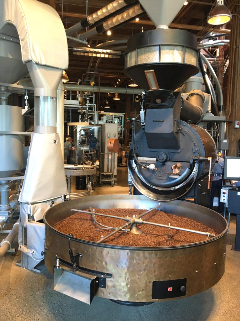 starbucks roastery seattle coffee machine