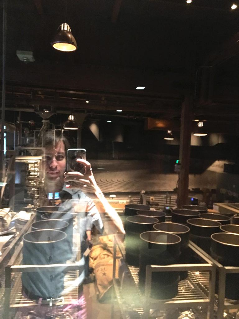 ethan reflection starbucks seattle