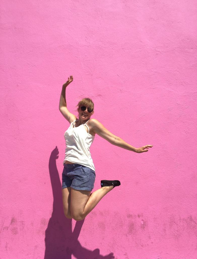 andria pink wall