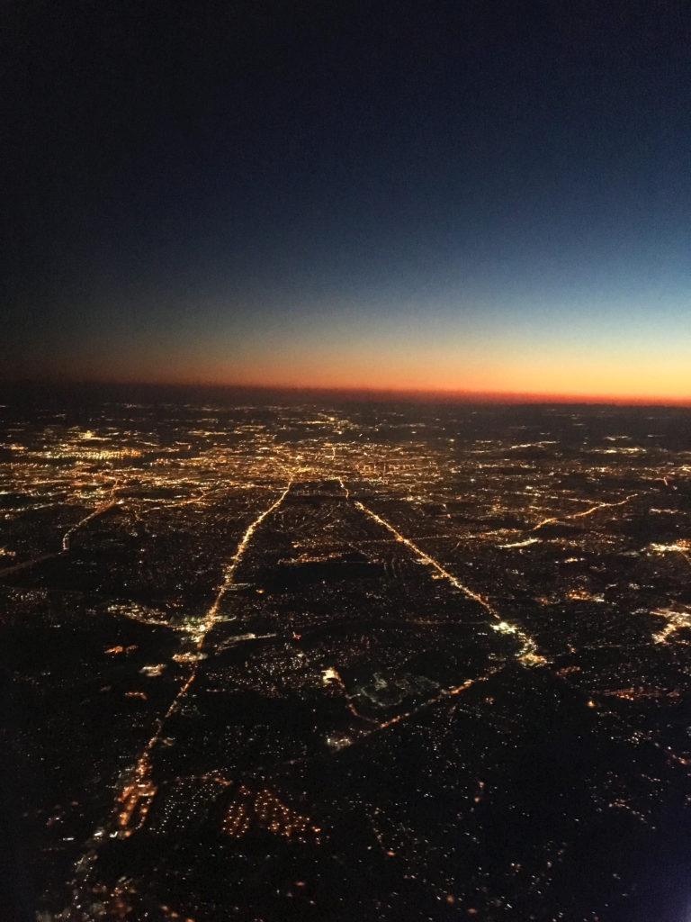 baltimore from my airplane