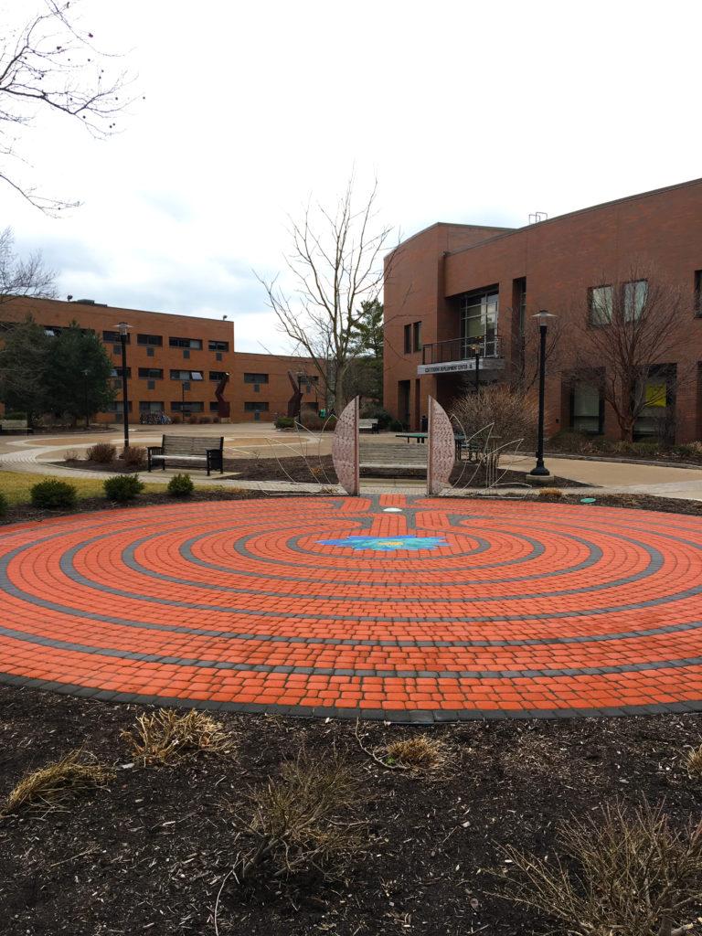 rit brick circles and designs