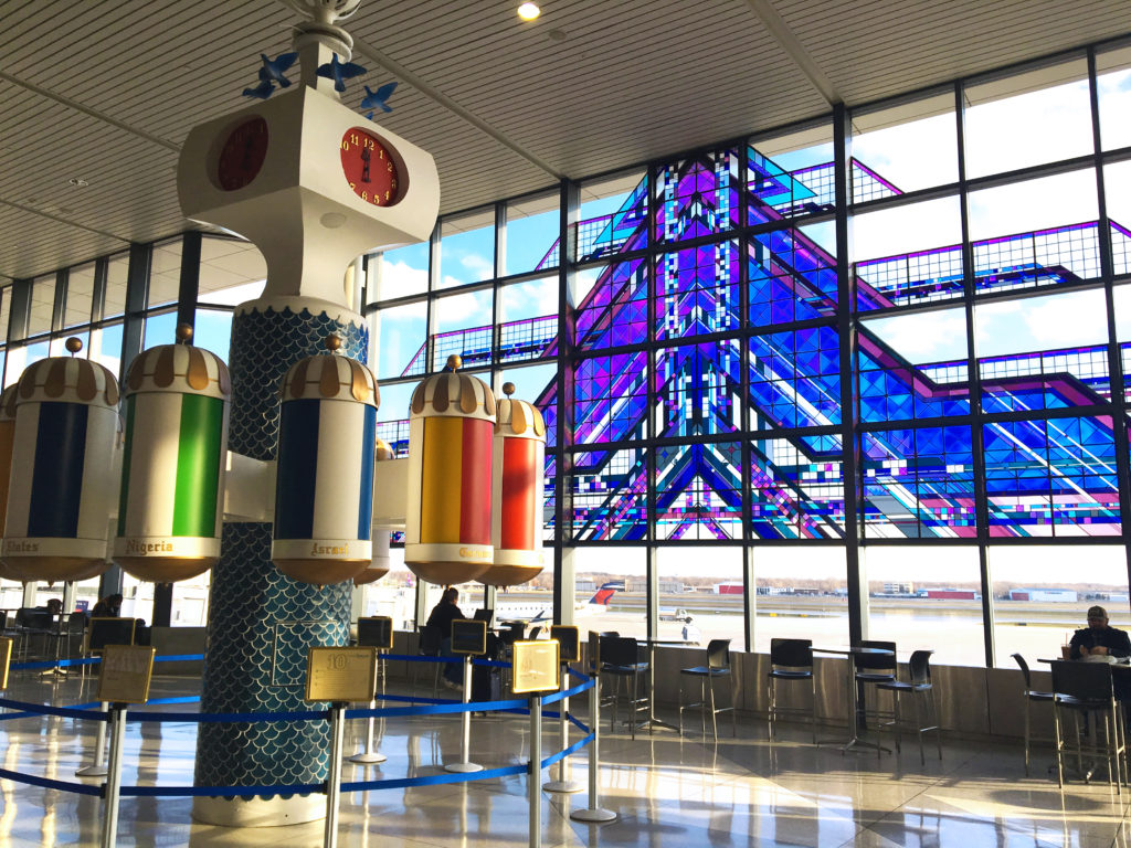 airport art in rochester ny